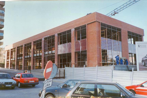 Edificio oficinas calle Gabriela Mistral, Madrid.