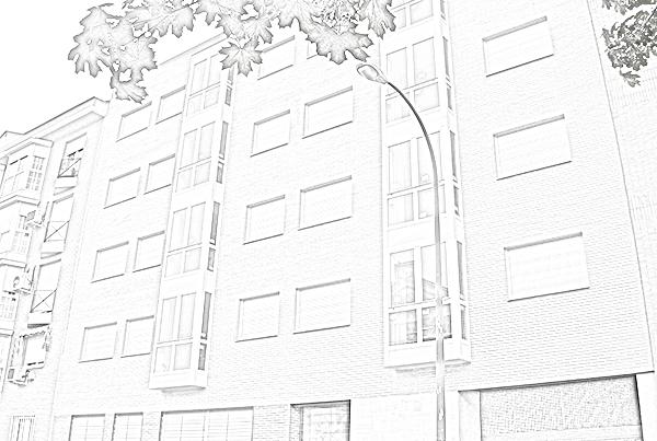Edificio viviendas y garajes. Calle Duquesa de Tamames 19. Madrid.