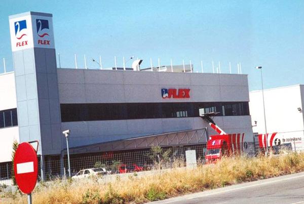 Nuevas instalaciones de Flex en Arroyo Culebro. Getafe. Madrid.